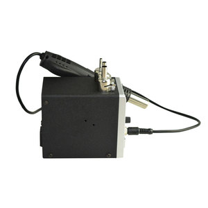 Image 5 - עופרת משלוח Eruntop 858D הלחמה תחנת LED דיגיטלי הלחמה ברזל הסרת הלחמה תחנת BGA עיבוד חוזר הלחמה תחנת אוויר חם אקדח