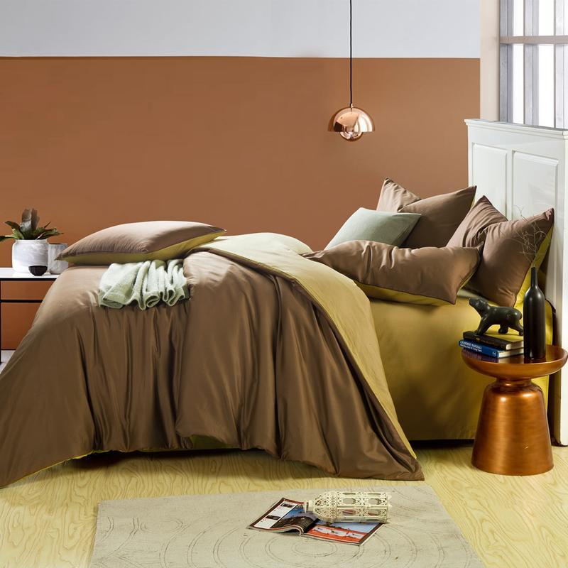 100% Katoen Koffie Grijs Queen King Size Beddengoed Set Twin Size Bed Set Zachte Laken Set Dekbedovertrek Parrure De Lit Ropa De Cama Aromatische Smaak