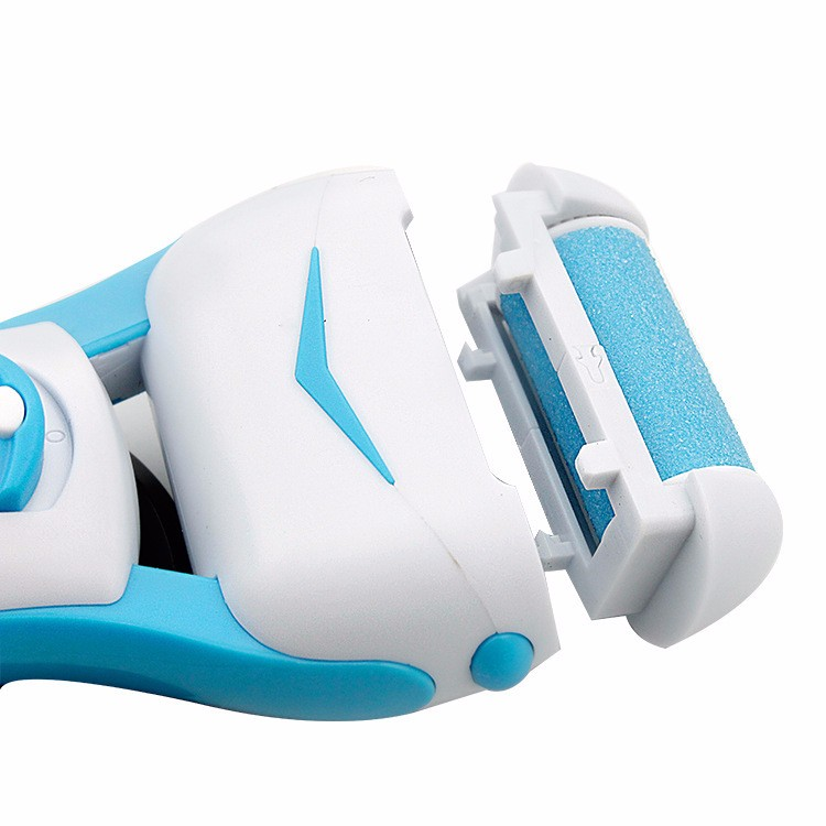 Electric Foot Care Tools Pedicure Kit Foot Callus Remover Grinding Machine Cuticles Remover Battery Operated Blue2
