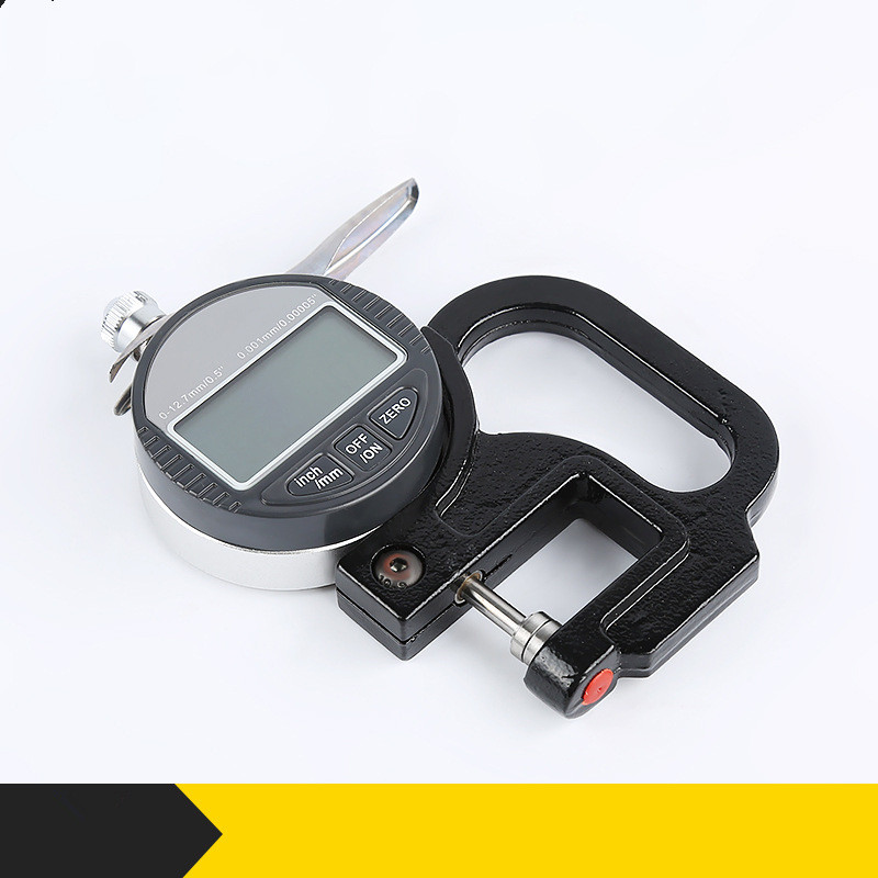 0.001mm Electronic Thickness Gauge 10mm Digital Micrometer Thickness Meter Micrometro Thickness Tester 0-12.7mm 0-25.4mm 0 5mm portable thickness gauge tester 0 001mm micrometer thickness meter measurement tool bc05