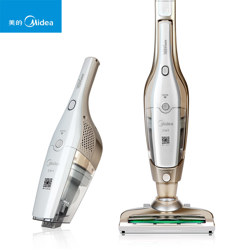 Electric 2 in 1 Wireless Hand Hold Vacuum Cleaner Home Vertical Mute Clean No Supplies U5 L021C Household Car Dual Purpose