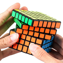 цены Moyu MofangJiaoshi MF6 Cube Speed 6Layers Stickerless 68mm Puzzle Cubes For Children cubo Championship 6x6 Learning EducationToy