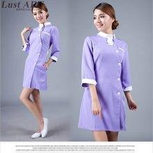 Медицинские скрабы для женщин, униформа для медсестры, дизайн, красивая женская медицинская Униформа, для женщин, униформа для медсестры, дизайн AA274