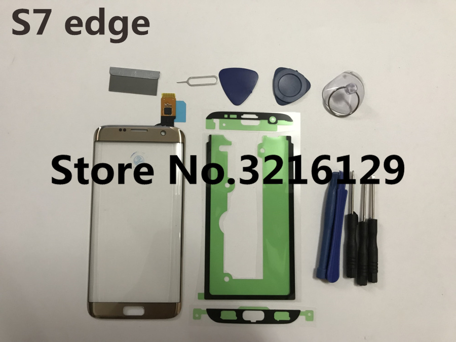 Front Glass Touch Panel for Samsung Galaxy S7 Edge G935F G9350 Original Front Outer Glass Lens