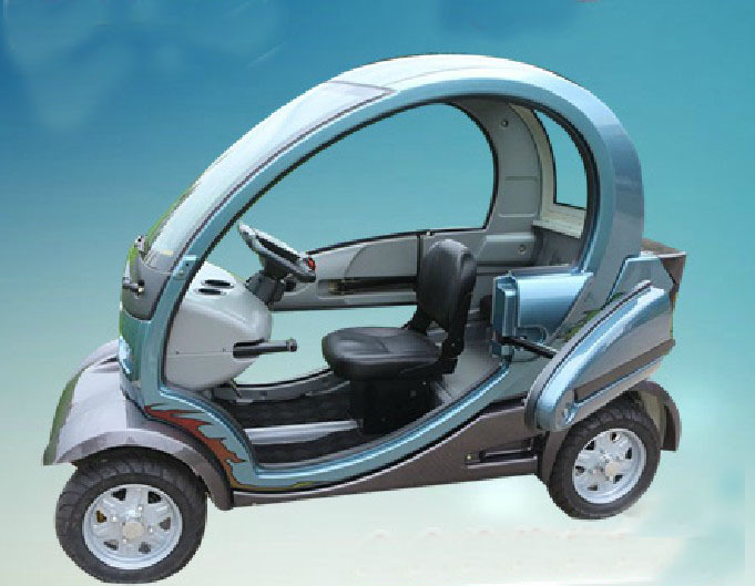 Electric Four Wheel Drive Cabrio Electric Car Household Electric