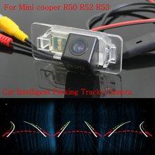 Автомобиль Интеллектуальные Парковка Треки Камеры ДЛЯ Mini cooper R50 R52 R53/резервное копирование Камера Заднего Вида/Камера Заднего вида/HD CCD