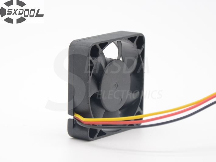 SXDOOL FD124010EB 4CM 40MM 4*4*1CM 40*40*10MM 4010 12V 0.12A Dual ball bearing fan high quality new ym1204pfb3 4010 4cm 12v 0 04a ultra quiet double ball bearing fan for first union 40 40 10mm