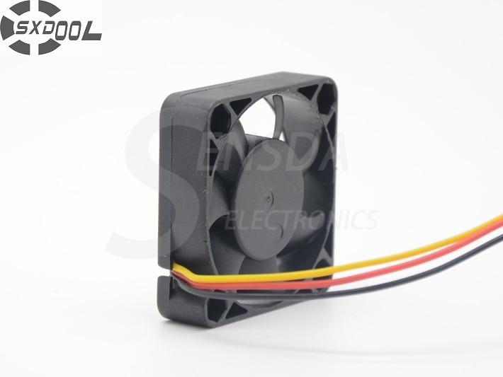 SXDOOL FD124010EB 4CM 40MM 4*4*1CM 40*40*10MM 4010 12V 0.12A Dual ball bearing fan