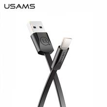 Typ C przewód USB USAMS typ C USB C ładowarka przewód danych dla Samsung S9 S8 OnePlus 6t Sync typ C szybki przewód do ładowania tanie tanio W USAMS BlackBerry LG Palm Toshiba Panasonic HTC Nokia SONY Motorola Samsung Odwracalne Przewód USB C TypeC USB cable