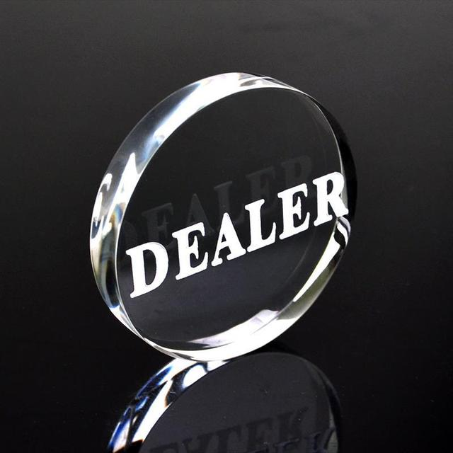 Acrylic Dealer Button
