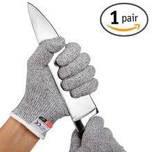 Anti cut Handschoenen Werken Veiligheid Handschoen Man Cut Proof Keuken Butcher Cut Warmte Steekwerende Fire Hand Handschoenen Duurzaam zelfverdediging