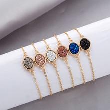Gold Chain Women Bracelets Bangles Bohemian Chromatic Color