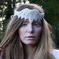 Strass cristal Do Casamento Da Fita Headbands Banda Cabeça de Noiva Headpieces Jóias Da Moda Artesanal Para As Mulheres Acessórios de Cabelo