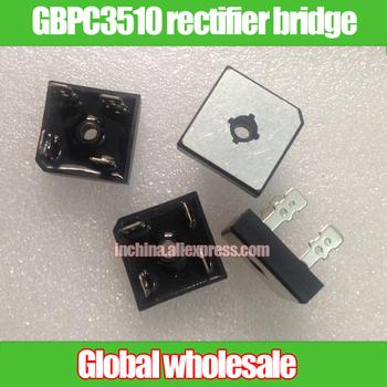 Darmowa wysyłka GBPC3510 mostek prostowniczy prostokątne stos most 1200 V 35A GBPC3510 mostek prostowniczy tanie i dobre opinie GBPC3510 rectifier bridge Nzluliyuan