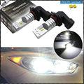 2 unids 6000 K Xenon Blanco Desarrollado Por Philips Luxen LED 9005 9145 HB3 H10 Bombillas Para coche De Carretera/Luces de Circulación Diurna/Niebla lámparas