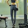 Женщины Леггинсы 2016 Одежда Печатные Женщины Брюки Quick Dry Тонкий Спортивная Леггинсы Фитнес Y25074
