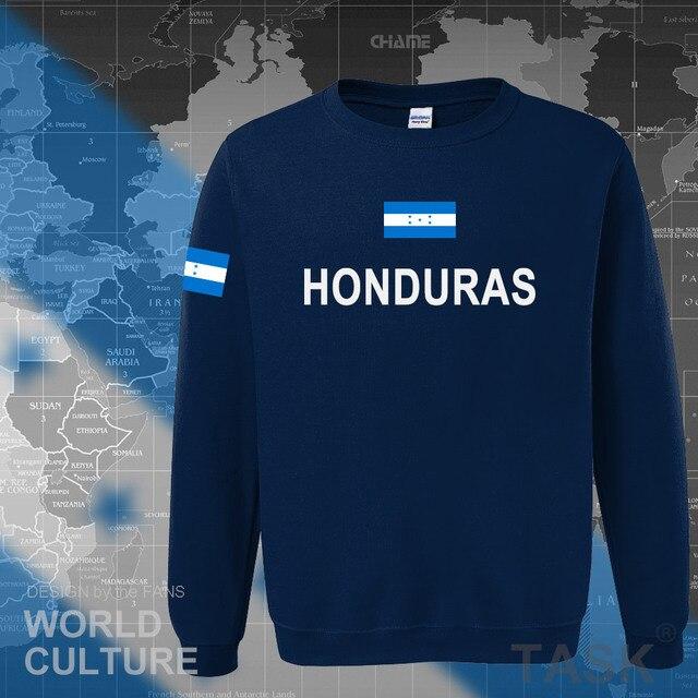 Honduras hoodies men sweatshirt sweat new hip hop streetwear tracksuit nation clothing sporting country HND Honduran Catracho 3