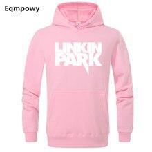 2019 New Brand LINKIN Men Sports Wear Fashion Printed Hoodie Hip Hop Tracksuit Sweatshirts Sweats