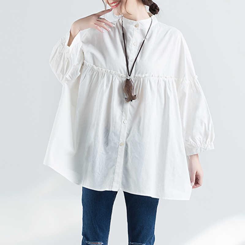 CHICEVER 2019 пружинная подставка Женская футболка s для женщин топ длинный рукав свободный большой размер черный футболка Топы Одежда Мода корейский