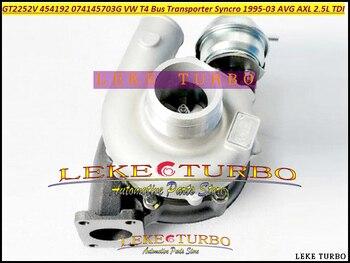 Turbo GT2252V 454192 454192-5006 S 454192-0002 Turbo Voor Volkswagen VW T4 Bus Transporter Syncro 1995- 02 AVG AXL 2.5L TDI