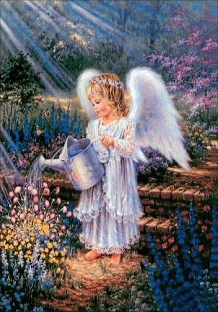 Купить алмазную вышивку ангелы
