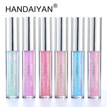 Liquid Crystal Glow Lip Gloss Laser Holographic Lip Tattoo Lipstick Mermaid Pigment Polarized Lipgloss Lip Plumper Gloss Makeup