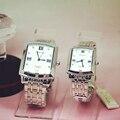 Модные кварцевые часы Longbo  квадратные часы из нержавеющей стали  JP  для мужчин и женщин  кварцевые наручные часы в подарок