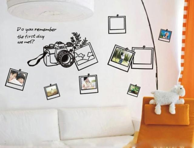 free shipping the third generation removable vinyl wall stickers