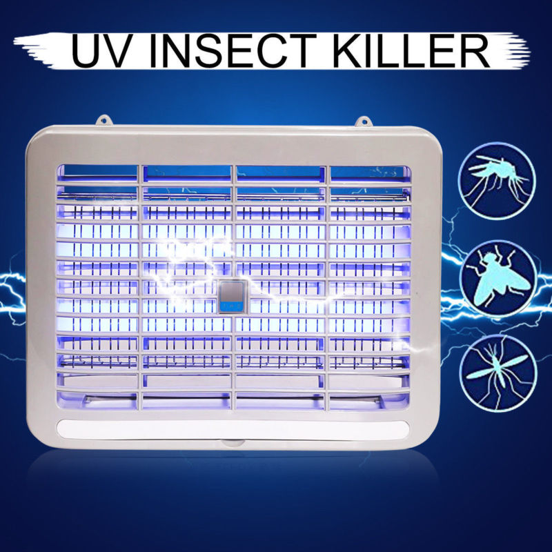 2019 New Electric Mosquito Killer Lamp Indoor LED Night Light Hotel Bedroom Anti Insect Pest Repeller Wasp Bug Fly Zapper Trap