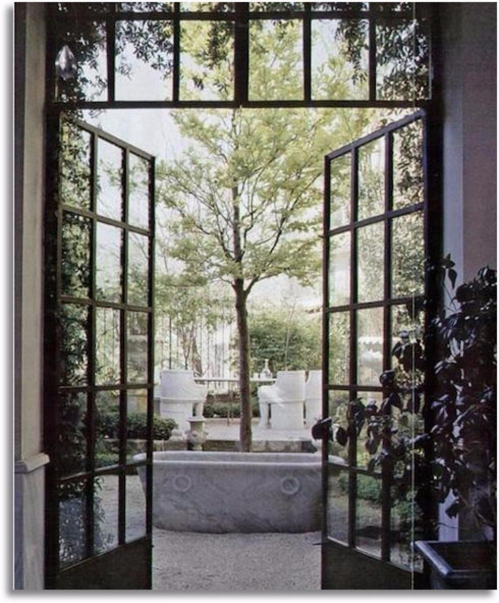 Steel Door With Window Steel French Doors Residential Steel Entry Doors