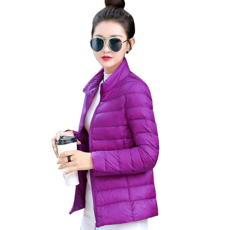 Plus size Winter   Down     Coat   Women Warm parka 2017 new White duck   Down   Jacket Female Overcoat slim fashion tops outerwear QH0950