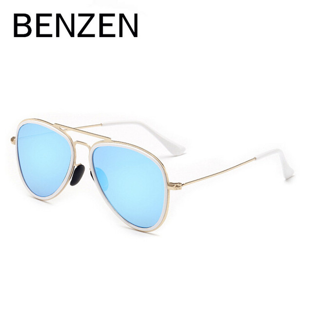 1573120a59f1a BENZEN Colorido Polarized Homens Óculos De Sol Das Mulheres Retro Feminino  Óculos de Sol Para A