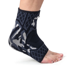 Kuangmi 1 PC Compression Ankle Brace Support Foot Socks Protector Sports Running Basketball Exercise Sleeve Guard Warmer
