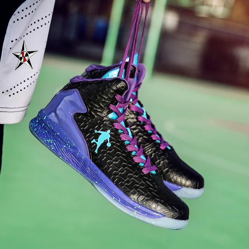 24d0a1952d7e 2019 Man High-top Basketball Shoes Unisex Men and Women Shoe Light Basketball  Sneakers Anti