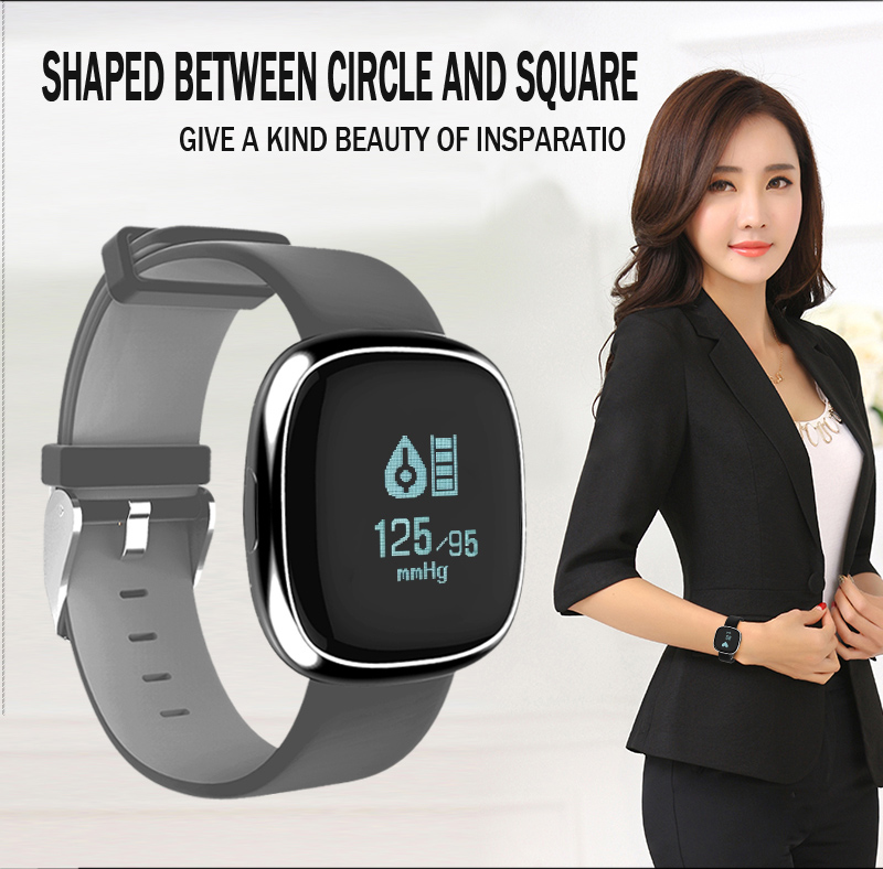 Heart Rate Pulse Monitor Smart Band Sleep Fitness Tracker Blood Pressure Bracelet Pedometer for Andriod IOS iPhone 7 Meizu Watch 7
