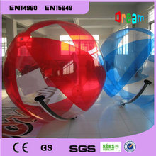 Top Quality 2.0m Colorful Giant Water Ball Water Inflation Clear Water Balloons Inflatables Water Walking Ball(China)