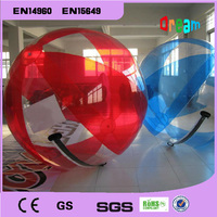 Top Quality 2.0m Colorful Giant Water Ball Water Inflation Clear Water Balloons Inflatables Water Walking Ball