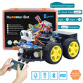 Keywish 4WD Robot Auto voor Arduino Starter Kit Slimme Auto APP RC Robotica Learning Kit Educatief STEM Speelgoed Kid Les + Video + Code
