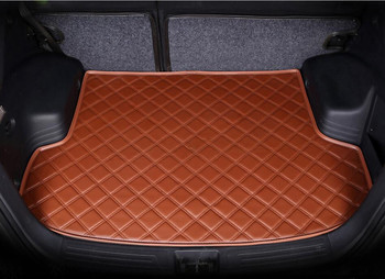 Auto Cargo Liner Trunk Mats For BMW 5 Series F10 F18 520 528 530 535 2010-2017 Boot Mat High Quality New Soft Leather