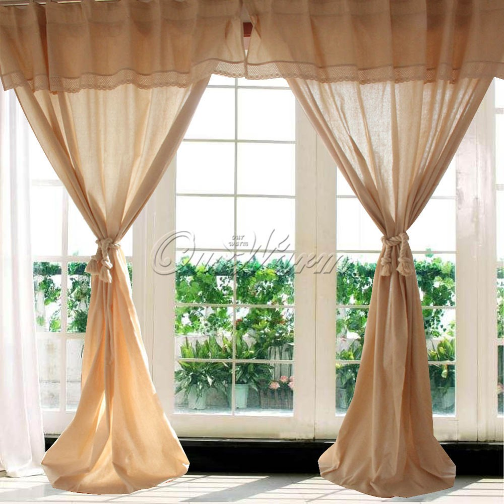 Modern Living Room Curtains And