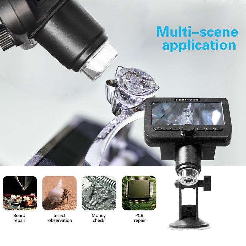 Wifi Electron Microscope Digital Microscope Portable Durable Waterproof Mobile Phones Wi Fi Microscope for Photos Drop Shipping|Microscopes| |  - title=
