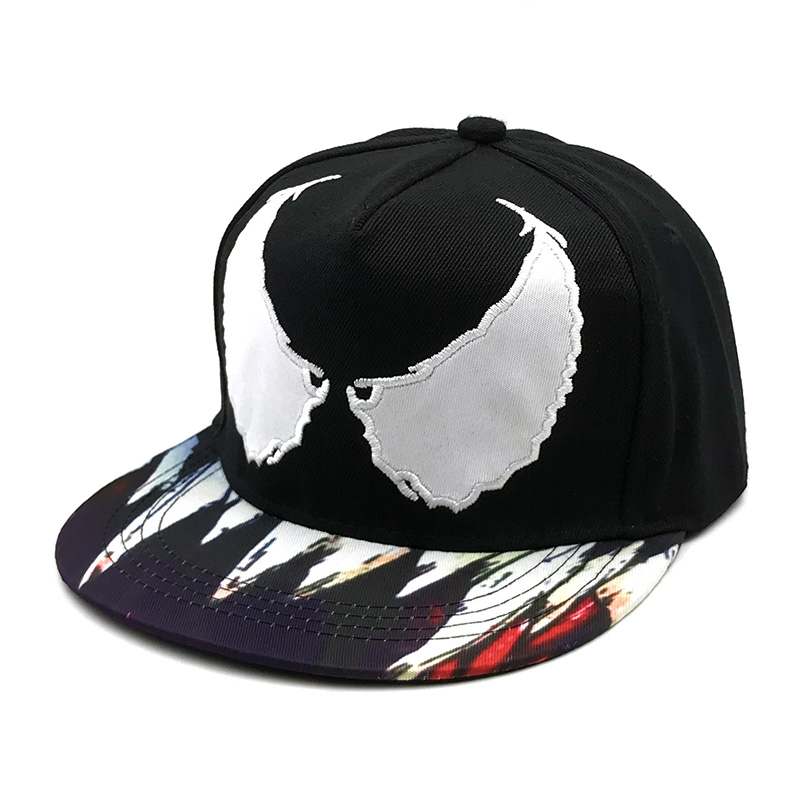Hat Embroidered Venom Outside Of Hip-Hop Hat Snapback Casquette Snap Back Eye Baseball Cap Gorras For Men Women Lovers Hat