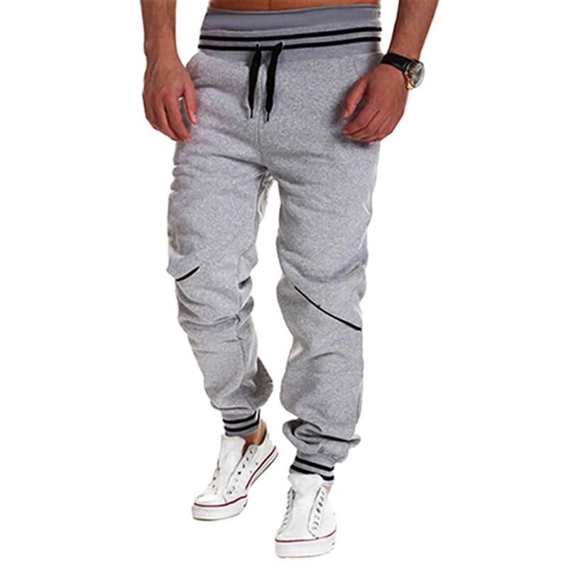 Hombres moda Jogger Dance Sportwear Baggy Harem Pantalones pantalones de  chándal 00c35005a6df