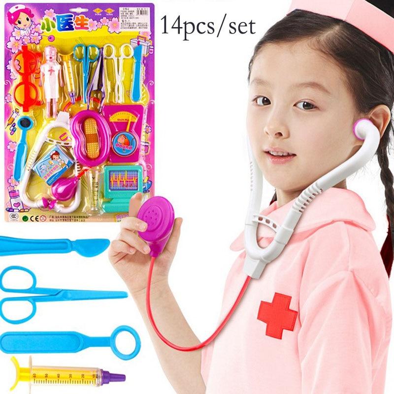 Hadiah untuk anak perempuan Dokter Anak Set Anak-anak bermain mainan pendidikan anak-anak Simulasi DOCTOR