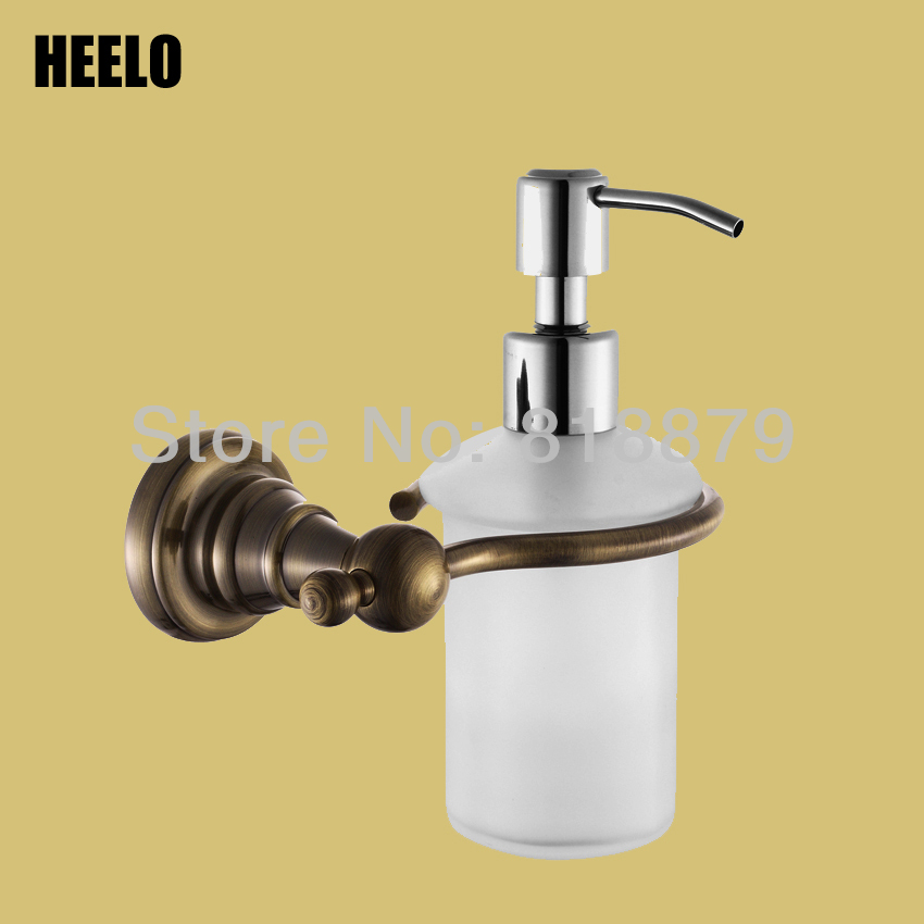 Top Quality Brass Soap Dispenser Bathroom Hardware Accessories In Bronze  And Chrome(China (Mainland
