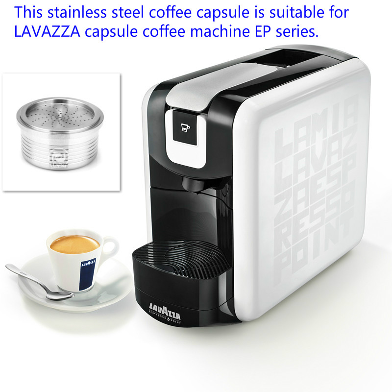Compatible With Lavazza Ep Mini Capsule Coffee Machine Reusable Stainless Steel Coffee Capsules