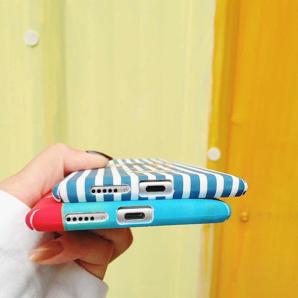 ハード PC 電話バッグ APPLE の IPHONE 5 7 8 プラス X 6 S 6 プラスフレンチブルドッグ漫画の携帯電話バッグカバー FUNDAS キャパ COQUES