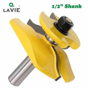 Image 3 - LAVIE 1pc 12mm 1/2 Inch Raised Panel Ogee Router Bit with Backcutter Tenon Cutter for Wood Woodworking Tools Power Tool MC03084