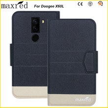 Original! Doogee X60L Case 5 Colors High Quality Flip Ultra-thin Luxury Leather Protective For