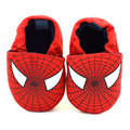 Spiderman super hero Non-slip on baby shoes boys First Walkers Newborn baby cotton shoes for boy Toddler Shoes GYH